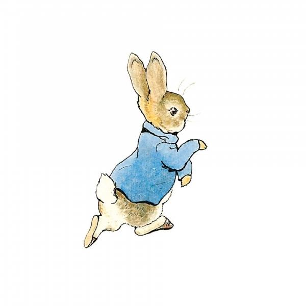 Peter Rabbit Large Window Sticker Beatrix Potter Shop