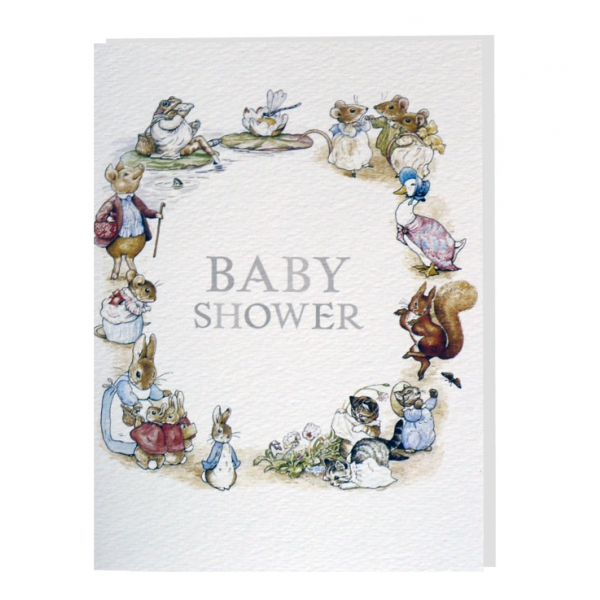 beatrix potter baby shower card - Baby Shower Cards