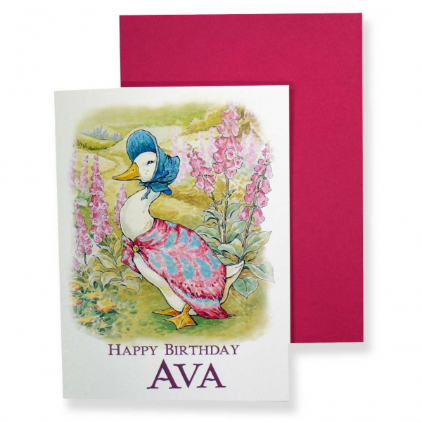girls personalised birthday cards - Personalised Birthday Cards
