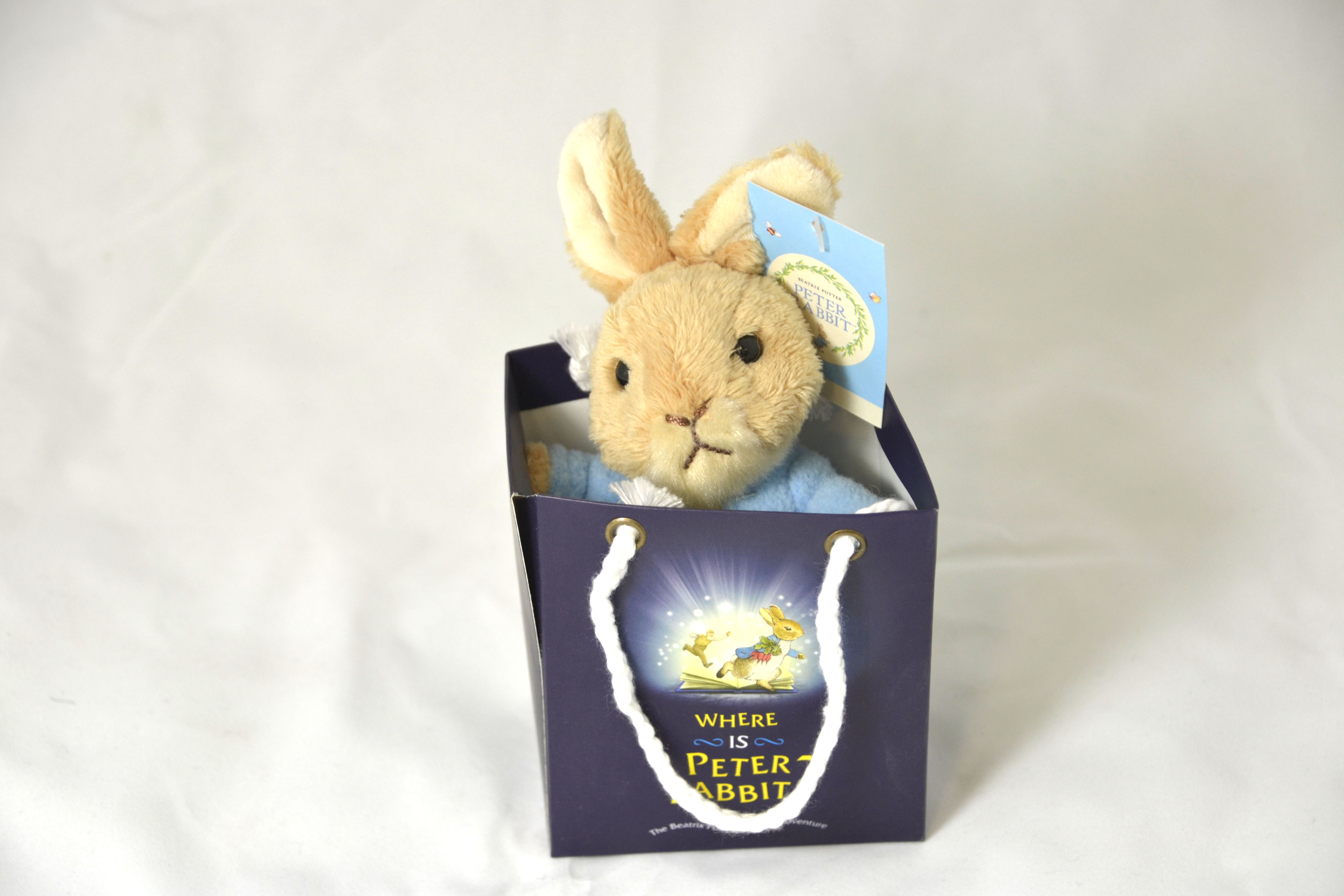 Gift Bag Toys : Where is peter rabbit soft toy in gift bag small