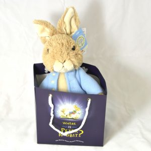 Where is Peter Rabbit large teddy in bag