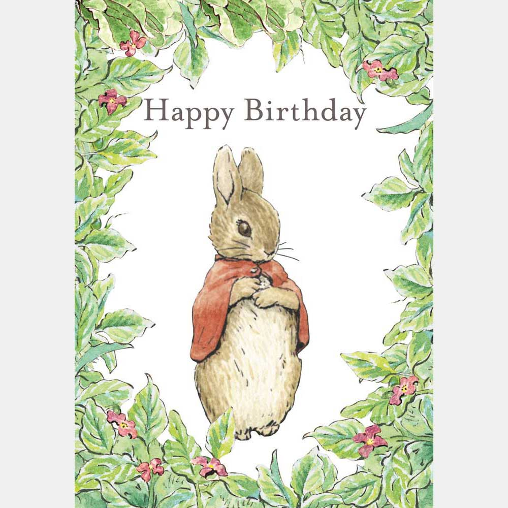 Flopsy Bunny Birthday Card