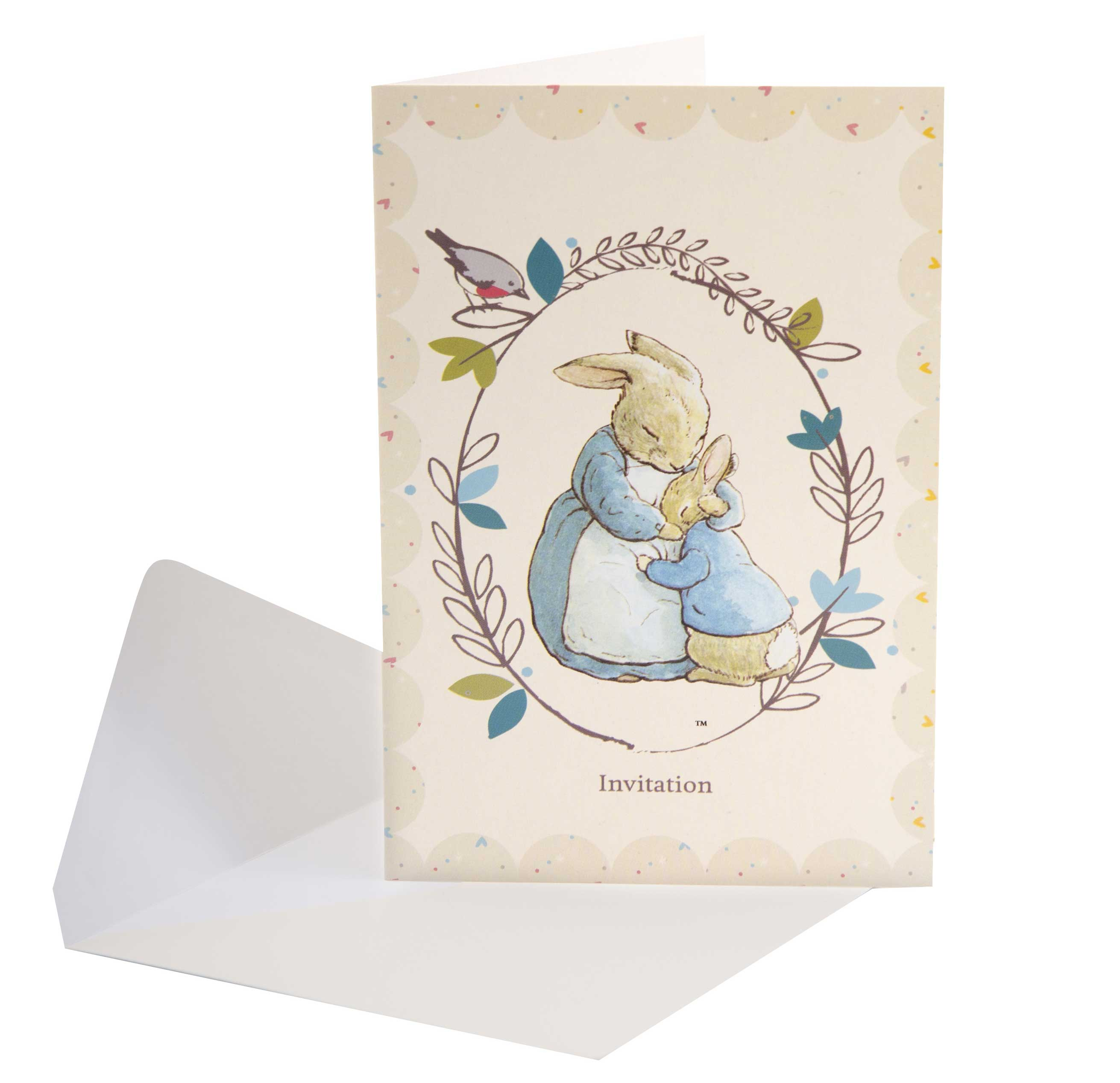 Peter Rabbit Party Invitations Beatrix Potter Shop