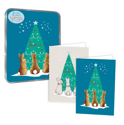 Christmas Notecards.Peter Rabbit Christmas Notecards