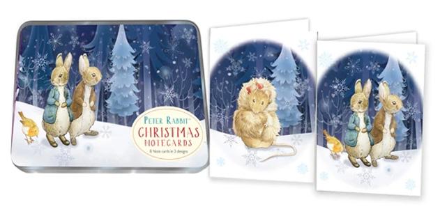 Christmas Notecards.Peter Rabbit Benjamin Christmas Notecards