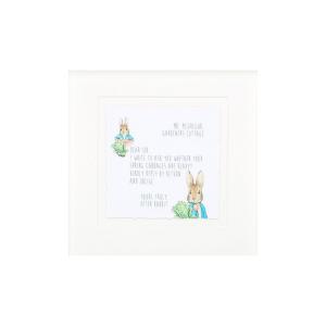 'Dear Mr McGregor' Peter Rabbit Mounted Print