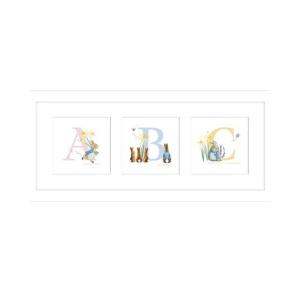 'ABC' Framed Print
