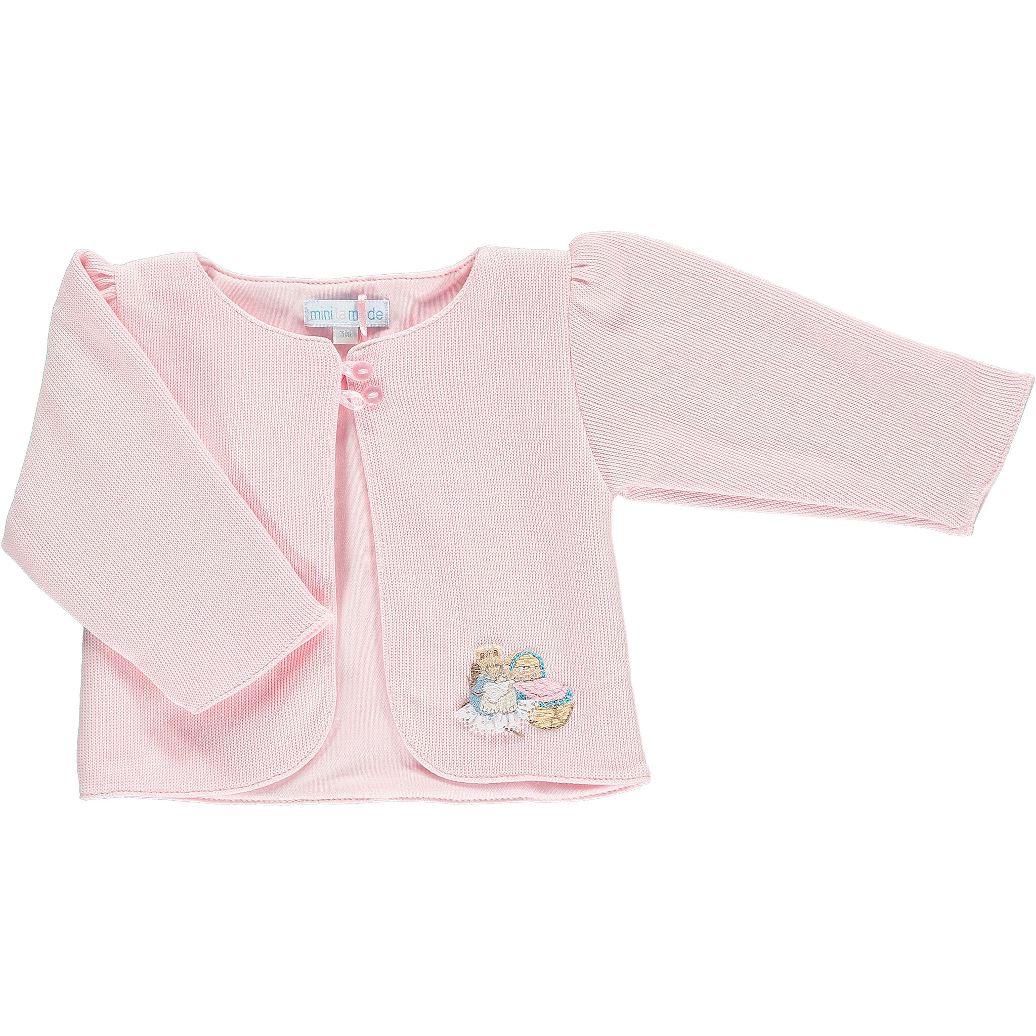 New Beatrix Potter character Knitted baby cardigan