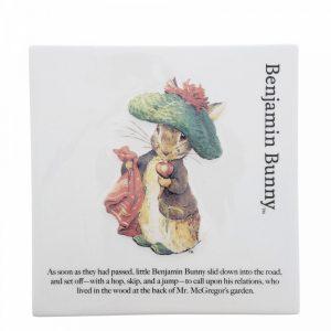 Benjamin Bunny Decorative Wall Plaque