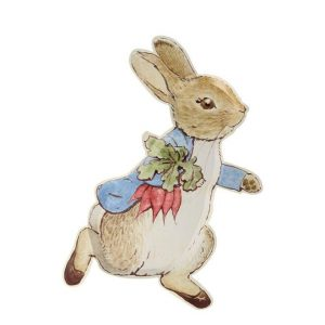 Peter Rabbit Shaped Party Plate