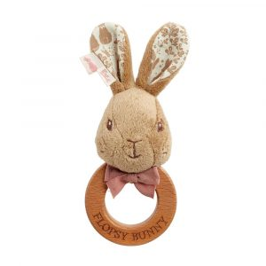 Signature Flopsy Rabbit Ring Rattle