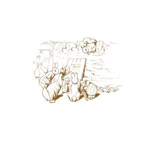 Beatrix Potter Sketch Greetings Card
