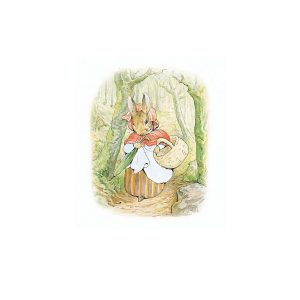 Mrs Rabbit Greetings Card
