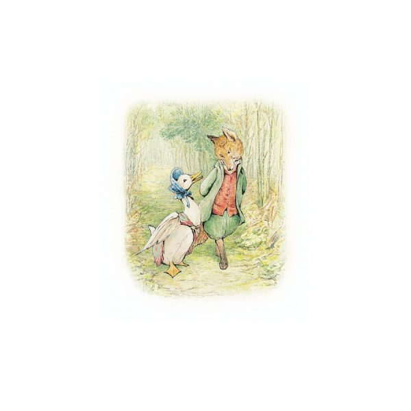 Jemima Puddle-Duck & The Foxy Whiskered Gentleman Greetings Card