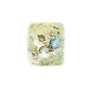 Tom Kitten, Moppet & Mittens Greeting Card