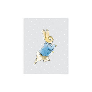 Peter Rabbit Running Artko Mounted Print