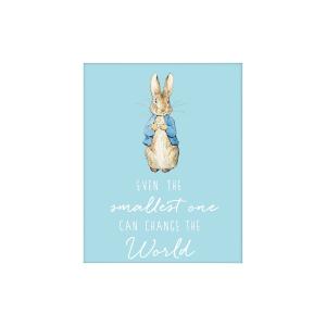 Peter Rabbit 'Change the World' Artko Mounted Print