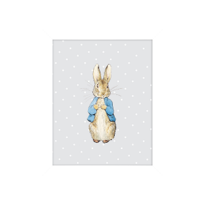 Peter Rabbit Standing Artko Mounted Print