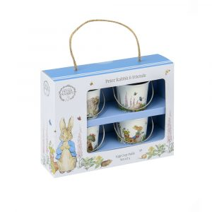 Peter Rabbit Classic Set of 4 Egg Cup Pails