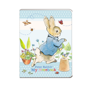 Peter Rabbit Pastel A6 Soft Cover Notebook