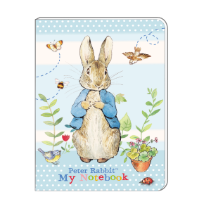 Peter Rabbit Pastel A5 Soft Cover Notebook