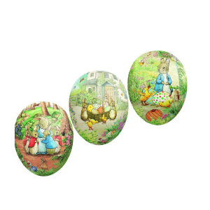 Beatrix Potter Cardboard Easter Egg - Small