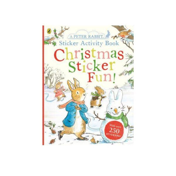 Peter Rabbit 'Christmas Sticker Fun!' Activity Book