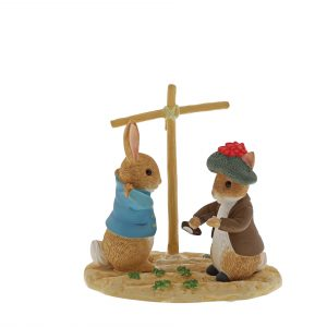 Peter Rabbit and Benjamin Bunny Ltd Edition Figurine