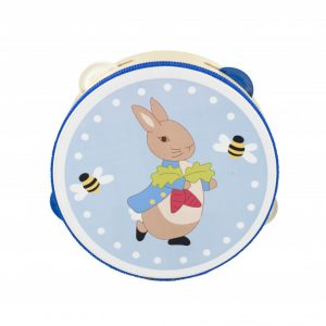 Peter Rabbit Wooden Tambourine