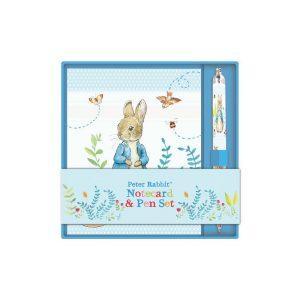 Peter Rabbit Notecard and Pen Set