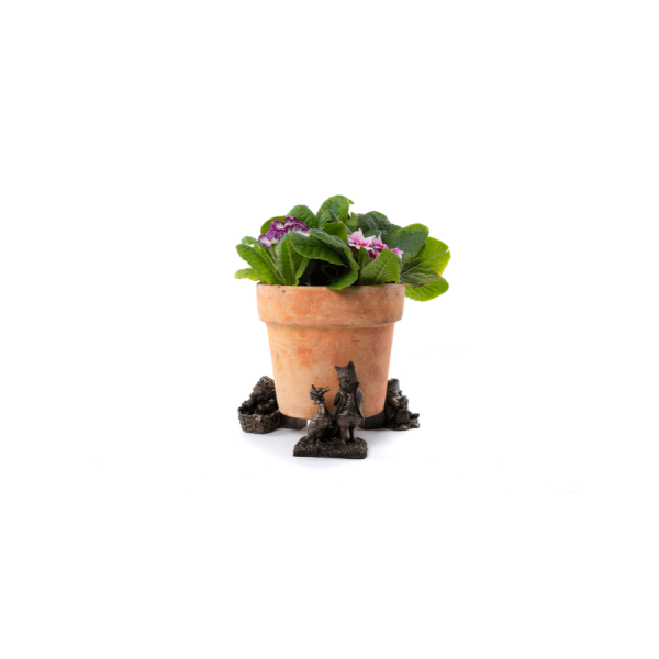 Jemima Puddle-Duck and Friends Potty Feet Bronze Set 3