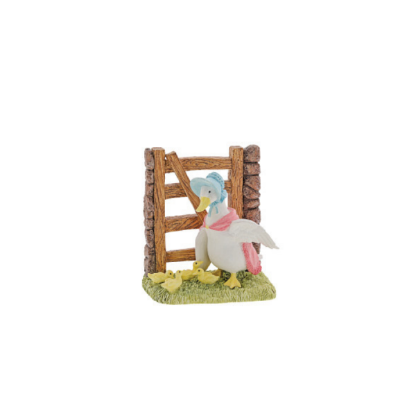 Jemima with Ducklings Members Only Figurine 2021