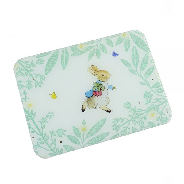 Peter Rabbit Daisy Range Small Glass Worktop Protector
