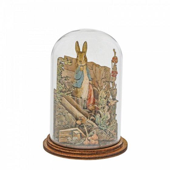 Peter Rabbit with Handkerchief Wooden Figurine