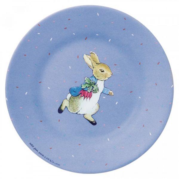 Peter Rabbit Dessert Plate