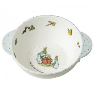 Mrs Rabbit Bowl with Handles
