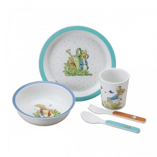 Peter Rabbit Blue 5-piece set in Gift Box