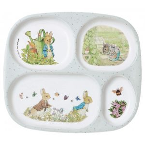 Peter Rabbit Compartment Plate