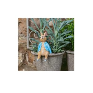 Peter Rabbit Sitting Plant Pot Buddy
