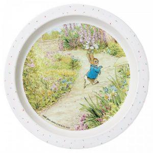 Peter Rabbit Garden Baby Plate