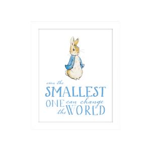 Peter Rabbit 'Smallest One' Framed Print