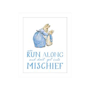 Peter Rabbit 'Run Along' Framed Print