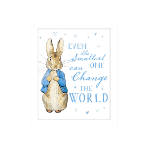 Peter Rabbit 'Even the Smallest One' Framed Print