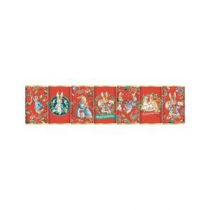 Peter Rabbit Christmas Seven Piece Mini Chocolate Bar Set